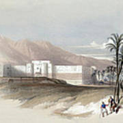 Fortress Of Akabah Arabia Petra 1839 Poster