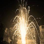 Fountain Firework Poster