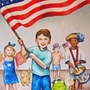 Fourth Of July Poster