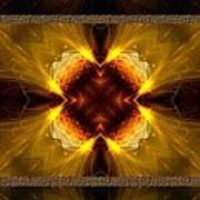 Fractal Triptych Poster