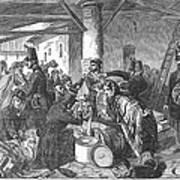 France: Custom House, 1854 Poster