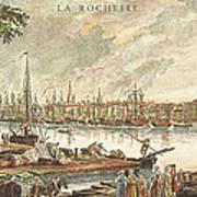 France: La Rochelle, 1762 Poster