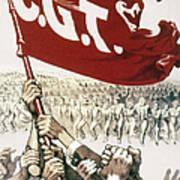 France: Popular Front, 1936 Poster