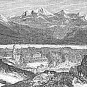 France: Spa, 1856 Poster