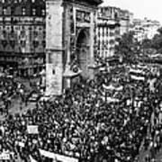 France: Strike, 1968 Poster