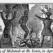Francis L. Mcintosh, A Free Mulatto Poster by Everett