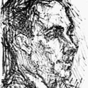 Francis Ponge (1899-1988) Poster