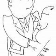 Francis Poulenc (1899-1963) Poster by Granger