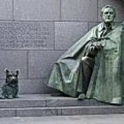Franklin Delano Roosevelt Memorial - Washington Dc Poster by Brendan Reals