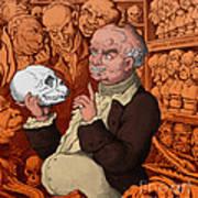 Franz Josef Gall, German Physiognomist Poster