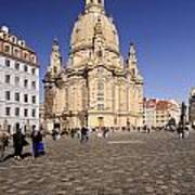 Frauenkirche And Surroundings Poster
