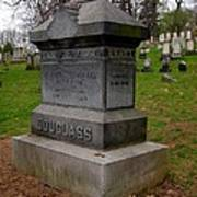 Frederick Douglass Grave Two Poster