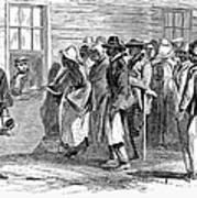 Freedmens Bureau, 1866 Poster