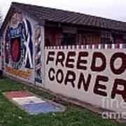 Freedom Corner Mural Poster
