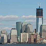 Freedom Tower And Manhattan Skyline II Poster