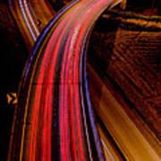Freeway Lights 1 Poster