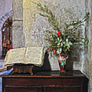French Church Decorations Poster
