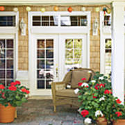 French Doors And Patio Poster by Andersen Ross