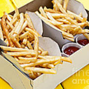 French Fries In Box Poster