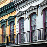French Quarter Balconies Poster