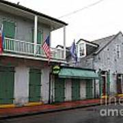 French Quarter Tavern Architecture New Orleans Poster