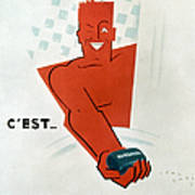 French Soap Advertisement Poster