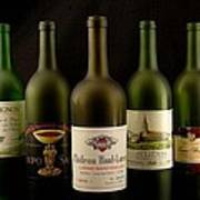 French Wine Labels Poster