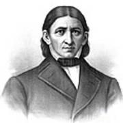 Friedrich Frobel, German Pedagogue Poster