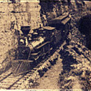 Frisco Steam Train Poster