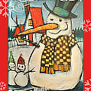 Frosty Family Poster Poster