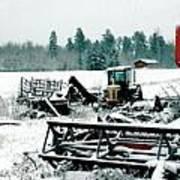 Frozen Field Poster