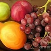 Fruit Aplenty Poster by Anne Ferguson