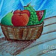 Fruit Basket Poster by Tanmay Singh