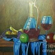 Fruity Still Life Poster