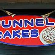 Funnel Cakes Poster by Skip Willits