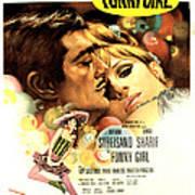 Funny Girl, Omar Sharif, Barbra Poster by Everett