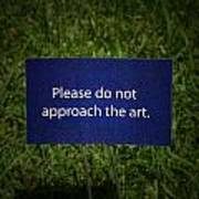 Funny Sign Poster