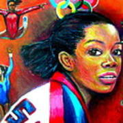 Gabby Douglas Poster