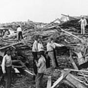 Galveston Disaster - C 1900 Poster