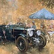 Garden Party With The Bentley Poster