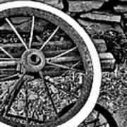 Garden Wheel Poster