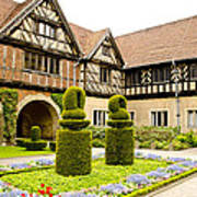 Gardens At Cecilienhof Palace Poster
