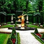 Gardens Of Linderhof Castle II Poster