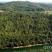 Gauley River Aerial View Poster