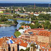 Gdansk Cityscape Poster
