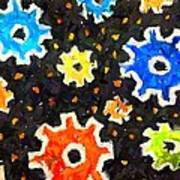 Gears In Motion Poster