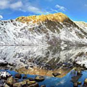 Geissler Mountain In Linkins Lake Poster
