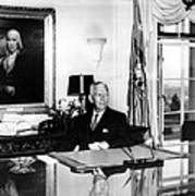 General George C. Marshall As Secretary Poster by Everett