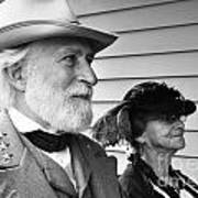 General Lee And Mary Custis Lee Poster