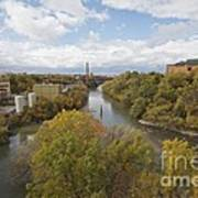 Genesee River Poster
